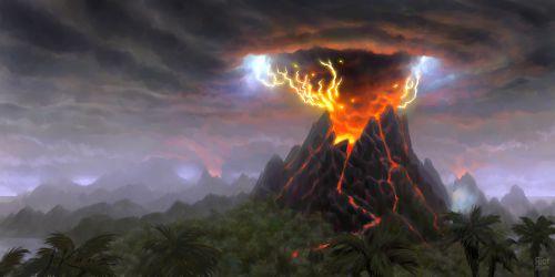 دلیل وقوع قدرتمندترین فوران آتشفشانی در تاریخ بشر