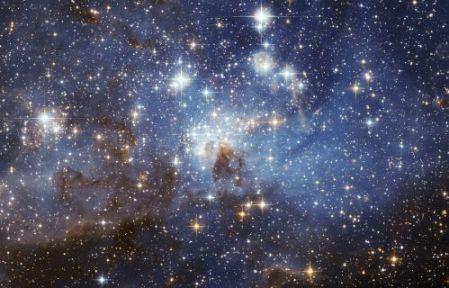 ستاره ها از چه موادی ساخته شده اند ؟