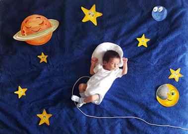 برای نوزادتان مادر خلاقی باشید