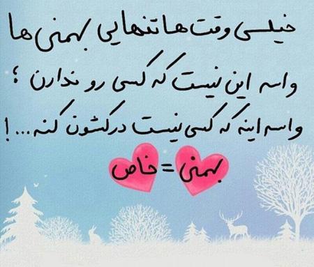 تنهایی بهمن ماهی ها