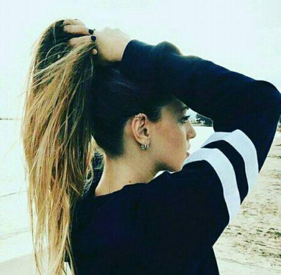 عکس پروفایل دخترونه با مو