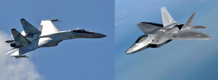 مقایسه پیشرفته ترین هواپیمای های جنگنده روسیه و آمریکا (اف 22 در برابر سوخو35)